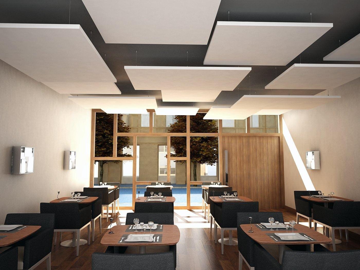 Подвесные потолки Rockfon