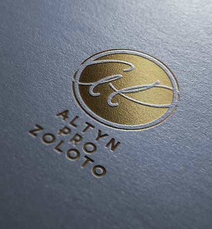 логотип, ломбард, золото, тиснение